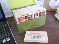 Betty Crocker recipe card library, Hundreds of Recipes - Complete 1971 Series.