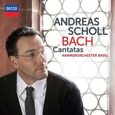 """ANDREAS  SCHOLL """"BACH KANTATEN BWV 82+169"""" CD NEW+"""