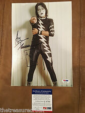 KISS guitar legend ACE FREHLEY signed autographed photograph PSA DNA COA