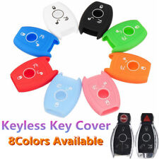 3Buttons Silicone Cover Remote Key Case For Mercedes-Benz E/C/CL/GL/SLK Class