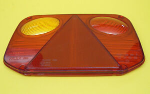 FREE UK Post - LH Replacement Lens for Radex 2800 Rear Trailer Lamp
