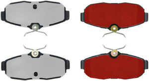 Disc Brake Pad Set-Shelby GT500 Rear,Front Centric 500.10820