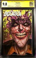 DCEASED #1 CGC SS 9.8 OMEGA JOKER VARIANT BATMAN ZOMBIE DETECTIVE COMICS #880 DC