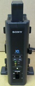 Sony BCL50 Dual Position Camera V-Mount Battery Charger 1 x Battery BC-L50