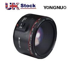 Yongnuo YN50MM F1.8 II AF MF Prime Lens for Canon 7D II 7D 6D 5D 80D 70D 60D UK