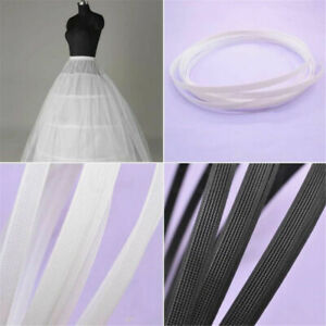 10 Yards Covered Plastic Boning For Wedding Swimwear Dress Support DIY Sewing