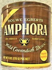 Vintage DOUWE EGBERTS AMPHORA Pipe Tobacco Tin - No Lid