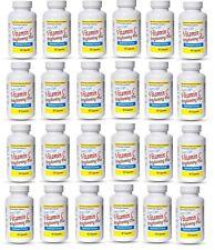24X Ivory Caps Natural Skin Enhancement Vitamin C Brightening Plus Pills Capsule