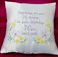 Personalised embroidered birthday gift 40th 50th 60th 70th 80th 90th any age (3)
