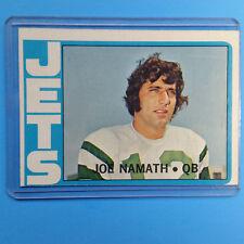 Joe Namath 1972 Topps #100 NFL Football Card QB JETS ~ Ungraded
