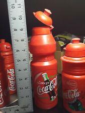 5 Vintage Coca Cola Tour de France 2000 Water Bottles Coca'Cola  Red Elite Italy