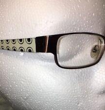 Diesel Glasses Frame Bronze Women's Geometric Circle Sides. Fun!