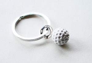 """Martin Hardt, Schlüsselanhänger/Key Ring, Sterling Silber/Silver, """"Golf"""""""