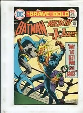 BRAVE AND THE BOLD #118 - BATMAN AND WILDCAT CO-STARRING JOKER! - (7.5) 1975