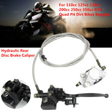 Motorcycle Hydraulic Rear Disc Brake Caliper System for 150cc250cc Dirt Bike ATV
