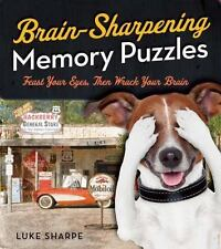 Brain-Sharpening Memory Puzzles: Test Your Recall with 80 Photo Games, Sharpe, L