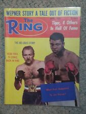 Muhammad Ali Redd Foxx Joe Frazier The Ring April 1975