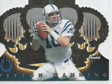 New listing 1998 Crown Royale Peyton Manning Die-Cut Rookie Card