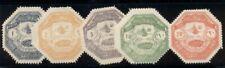 TURKEY #M1-5 Complete set, Military stamps, og, hinged, VF, Scott $50.00