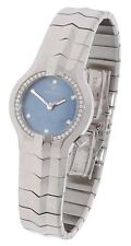 TAG HEUER ALTER EGO LADIES DIAMOND WATCH BLUE MOTHER OF PEARL FACE (BOX & PAPERS