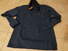 New Patagonia Women Better Sweater Marsupial Woolly Blue Fleece Jacket Pullover