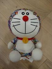 "New Limited Edition Uniqlo Doraemon x Takashi Murakami Doraemon 9"" Plush Doll"