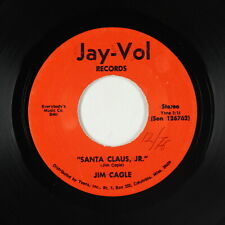 Funk/C&W Xmas Novelty 45 - Jim Cagle - Santa Claus Jr. - Jay-Vol - mp3