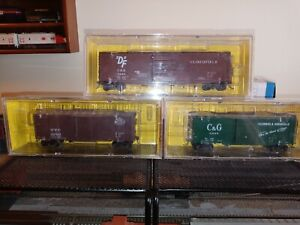 Lot of Three HO Scale Kadee Boxcar #3433 #5666 #170699 Used but Adult Owned Mint
