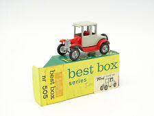 Best Box EFSI 1/72 - Ford T Coupé 1919 N°505