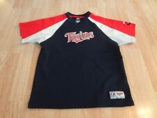 Youth Minnesota Twins L Jersey Shirt Warmup Majestic Jersey