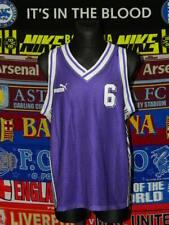 5/5 Puma adults XL/M MINT #6 basketball kit shirt + shorts retro vintage