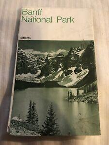 1974 BANFF National Park Travel Brochure Guide Alberta Canada
