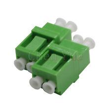 50pcs Fiber LC APC SM Duplex Ordinary Adapter Optical Fiber Connector Flange