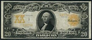 FR1184 $20 1906 GOLD NOTE VF+ NAPIER / THOMPSON (ONLY 127 RECORDED) WLM5736