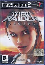 Ps2 PlayStation 2 LARA CROFT ♥ TOMB RAIDER ♥  LEGEND Nuovo Sigillato Italiano