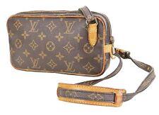 Authentic LOUIS VUITTON Marly Bandouliere Monogram Crossbody Shoulder Bag #35565