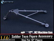 "M2 50 Cal Machine Gun Tripod Set by ZY Toys 1/6th Scale for 12"" Action Figure"