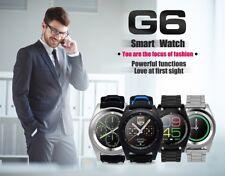 NO.1 G6 Bluetooth Heart Rate Monitor Smart Watch Blue Business Sports Braceletes
