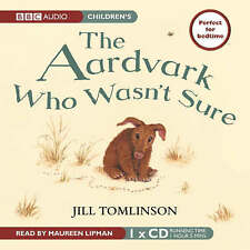 The Aardvark Who Wasn't Sure by Jill Tomlinson CD Audiobook NEW