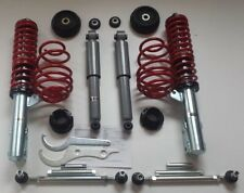 Coilover Opel Vauxhall Astra G Mk4 ADJUSTABLE SUSPENSION LOWERING KIT bearings