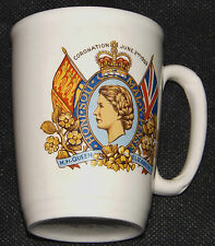 Queen Elizabeth II Coronation Mug June 2nd 1953 Made In England