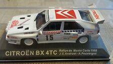 Diecast rally car collection deagostini  CITROEN BX 4TC