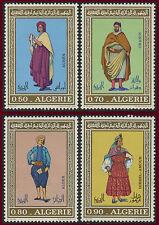 ALGERIE N°538/541** Costumes algériens,1971, ALGERIA Sc#466-469  MNH