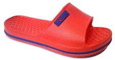 DEMA CIABATTE GOMMA BIMBO mod. CANOA ROSSO numerata 24/29 slippers