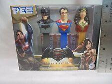 Batman V Superman PEZ DISPENSERS Batman Superman Wonder Woman Dawn Of Justice
