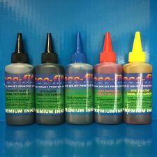 500ml ECOFILL Pigment/Dye Refill Ink Fit Canon Pixma MG5750 MG5751 MG5752 MG5753