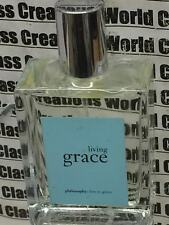 LIVING GRACE BY PHILOSOPHY FOR WOMEN - 2.0 OZ/60 ML EDT SPRAY - ROUGH BOTTLE