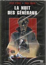 "DVD ""LA NUIT DES GENERAUX""  Peter O'TOOLE Omar SHARIF  neuf sous blister"