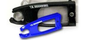 Yamaha Raptor YFM 700 Chain Front Slider Swing Arm Sprocket 2006-20 Blue TMD