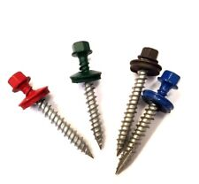 Metal Roofing Screws, Pole Barn Screws, Painted Screws, Metal to Wood, Siding